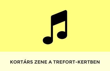 Kortárs zene a Trefort-kertben
