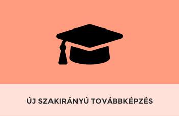 Új szakirányú továbbképzést indítunk a 2019/2020-as tanévtől